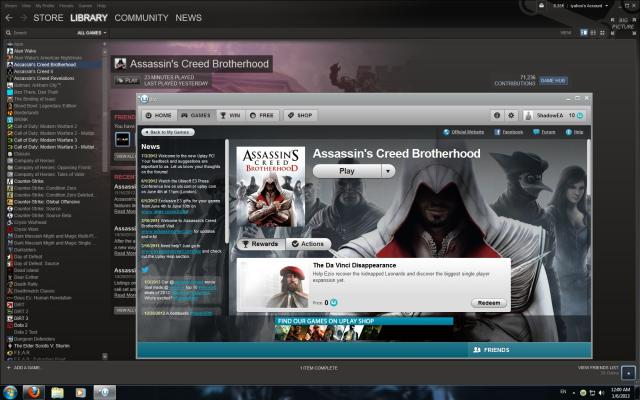 Seriously? I have to launch Uplay after I started my game in Steam?