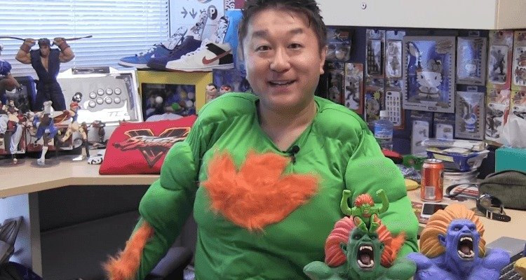 Looks like Ono isn't too happy about the Street Fighter V