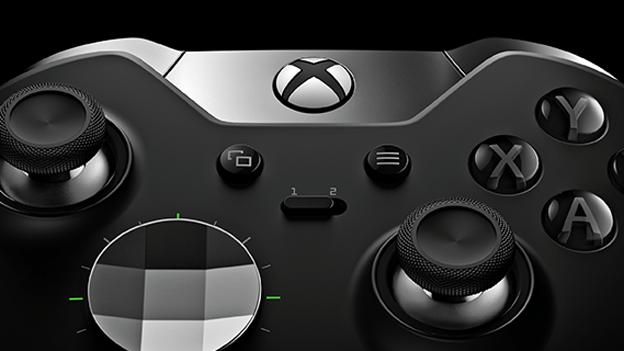 Xbox One Elite Controller face
