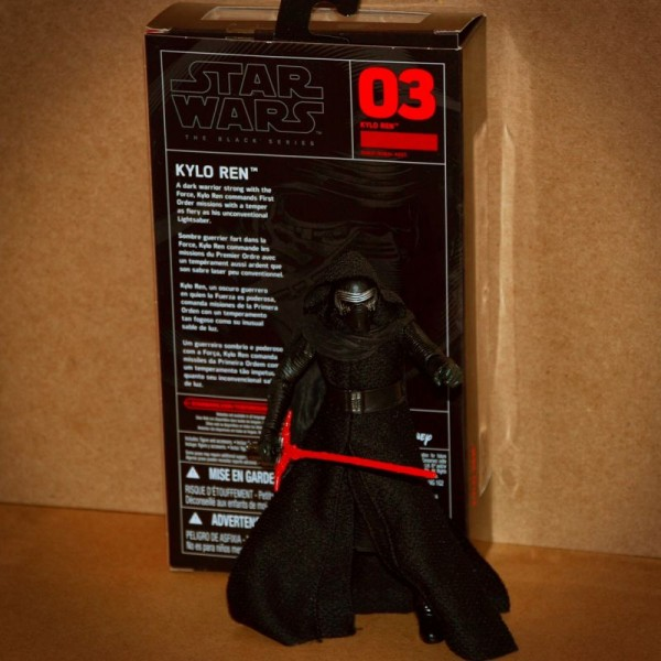 Star Wars Kylo Ren Back Box