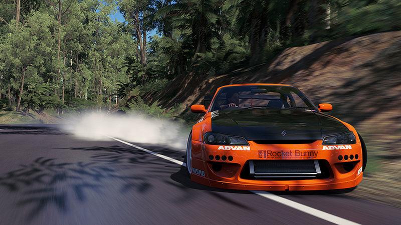 Forza Horizon 3 cars speeding