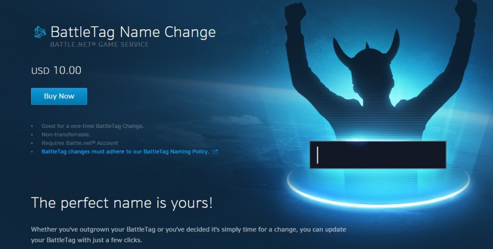 can i change my battlenet name