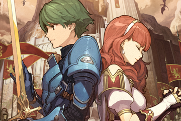 Alm and Celica Fire Emblem Echoes: Shadows of Valentia