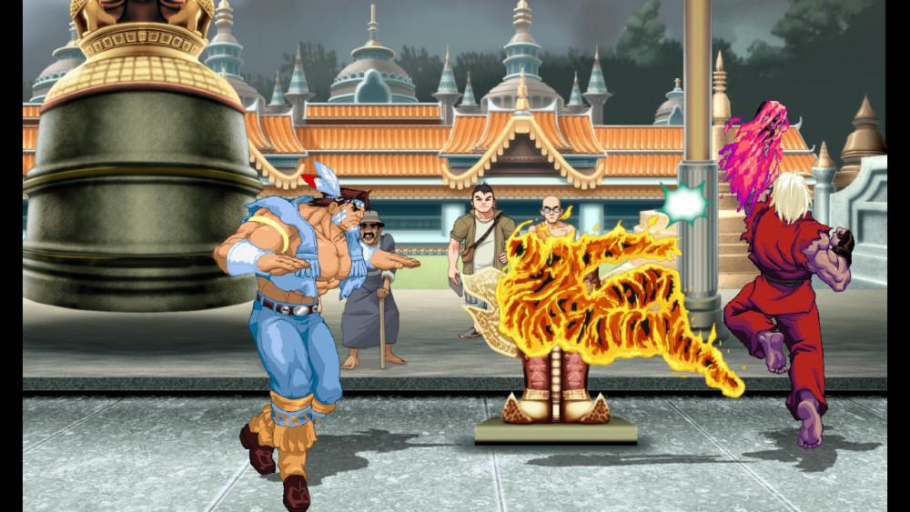 Ultra Street Fighter 2 Ken uppercut