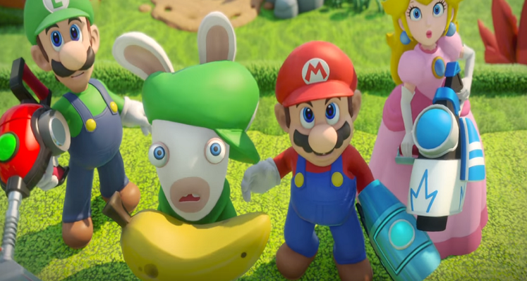 Nintendo + Ubisoft Mario + Rabbids Kingdom Battle