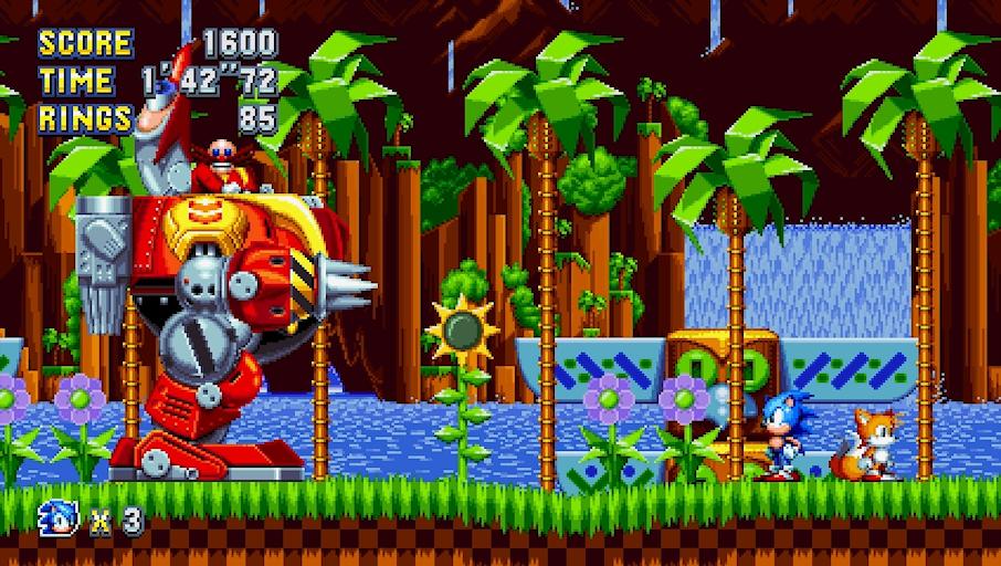 Sonic Mania Death Egg Robo