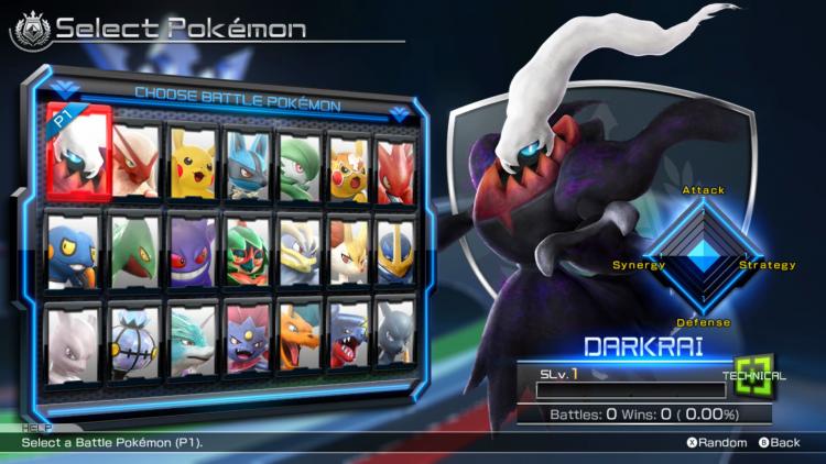 Pokken Tournament DX Darkrai