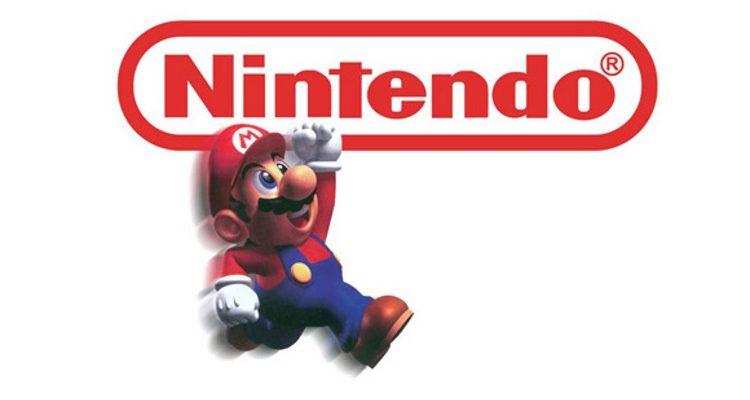 Nintendo Logo with Mario