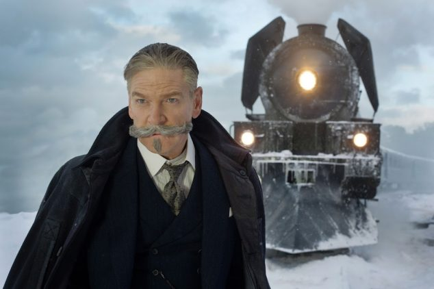 Murder on the Orient Express Hercule Poirot Kenneth Branagh
