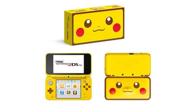 Pikachu 2DS Detective Pikachu