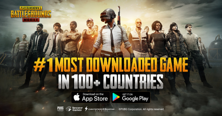 Playerunknown S Battlegrounds Mobile Ranks 1 In 100 Countries
