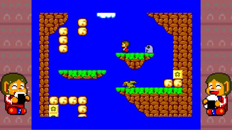 Alex Kidd in Miracle World - Sega Master System
