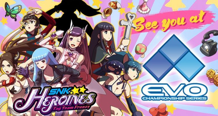 SNK Heroines playable at EVO.