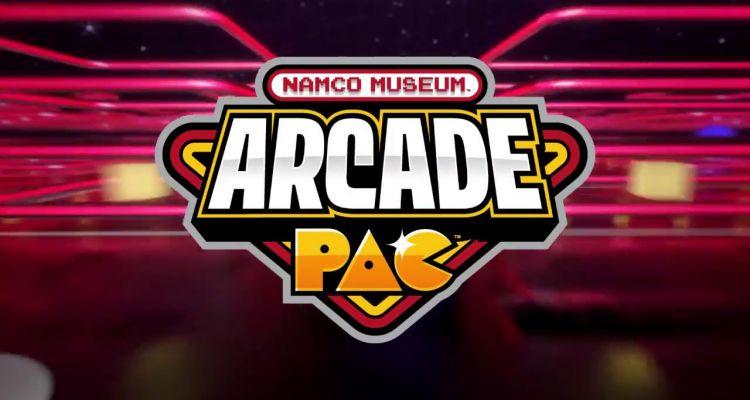 Namco Museum Arcade Pac header