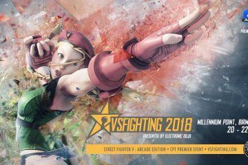 SFV: AE Capcom Pro Tour Premier Event hosted at VS Fighting 2018.