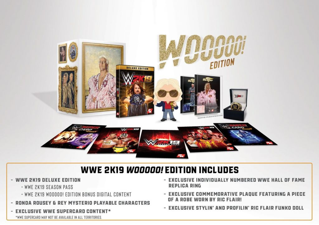 WWE2K19 Collector's Edition Contents