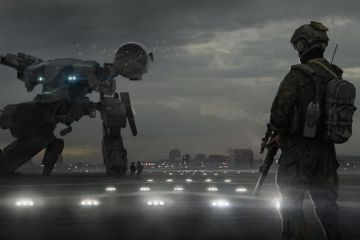 Metal Gear Movie Concept Art Nick Foreman