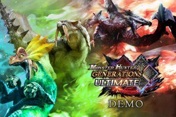 Monster Hunter Generations Ultimate demo