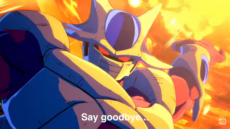 Cooler announced for Dragon Ball FighterZ.