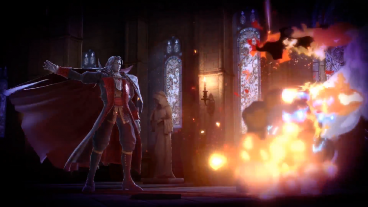 Dracula's Castle revealed in the Super Smash Bros. Direct.