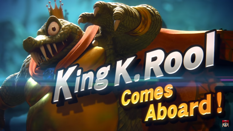 King K. Rool revealed in the Super Smash Bros. Direct.