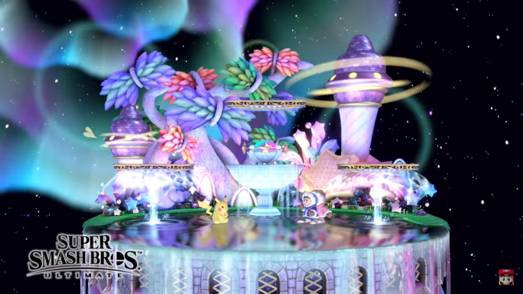 Fountain of Dreams revealed in the Super Smash Bros. Direct.