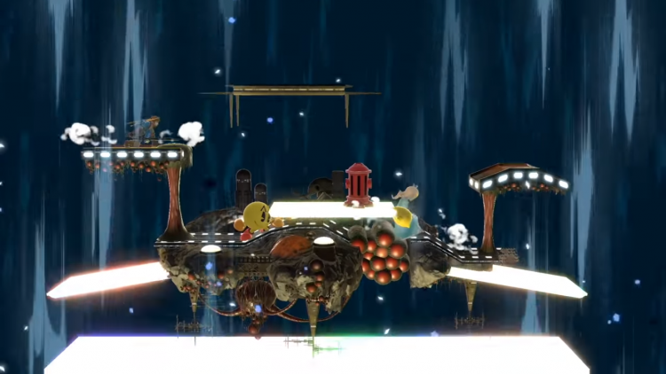 Stage Morph revealed in the Super Smash Bros. Direct.