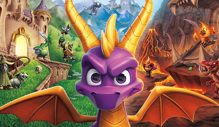Spyro Reignited Trilogy header