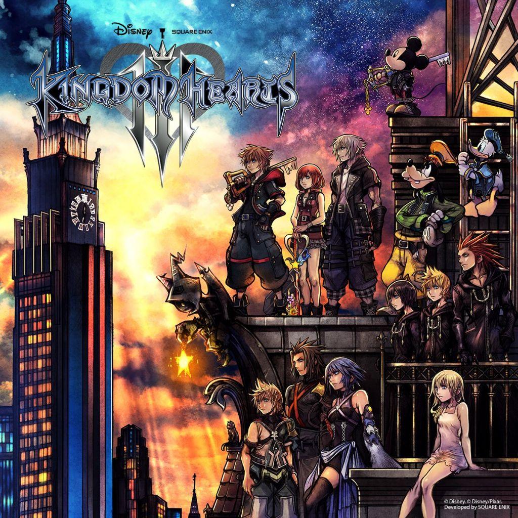 Kingdom Hearts III Boxart for North America and Japan