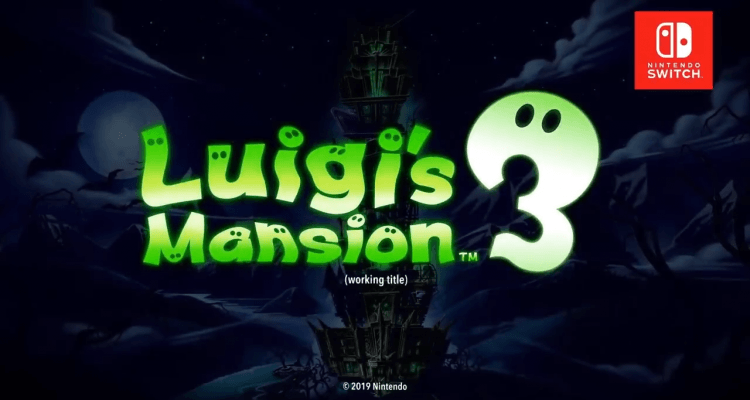 Luigi's Mansion 3 header