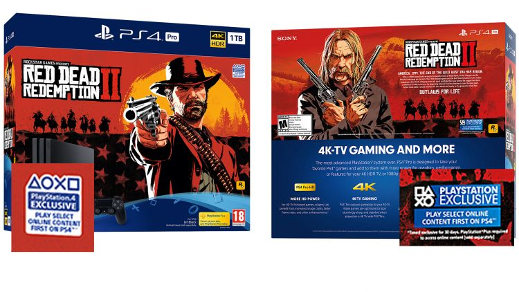 Red Dead Redemption 2 PlayStation 4 Pro Bundle Revealed with