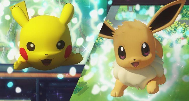 Pokemon Switch 2019 Pokemon Let's Go Pikachu Pokemon Let's Go Eevee