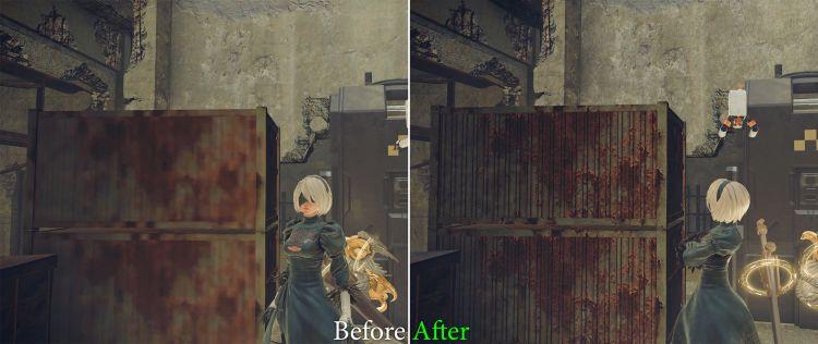 NieR Automata HD Texture Pack Screenshot-01