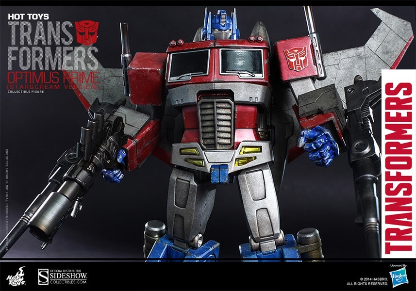 Sideshow Toys Optimus Prime / Star Scream Version
