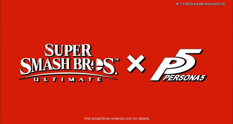 Super Smash Bros Ultimate Persona 5