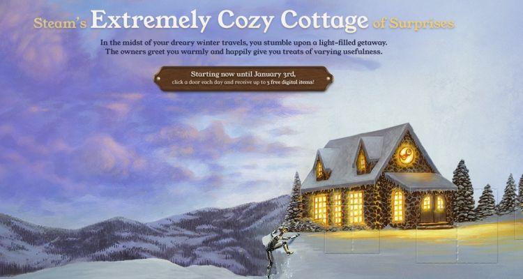 steam winter 2018 sale cozy cottage