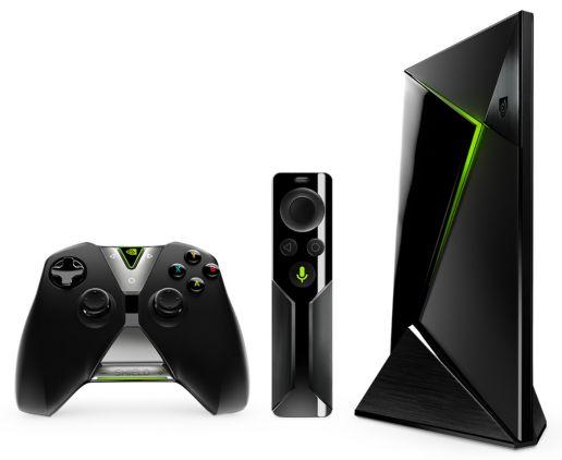 Nvidia Shield Android TV device