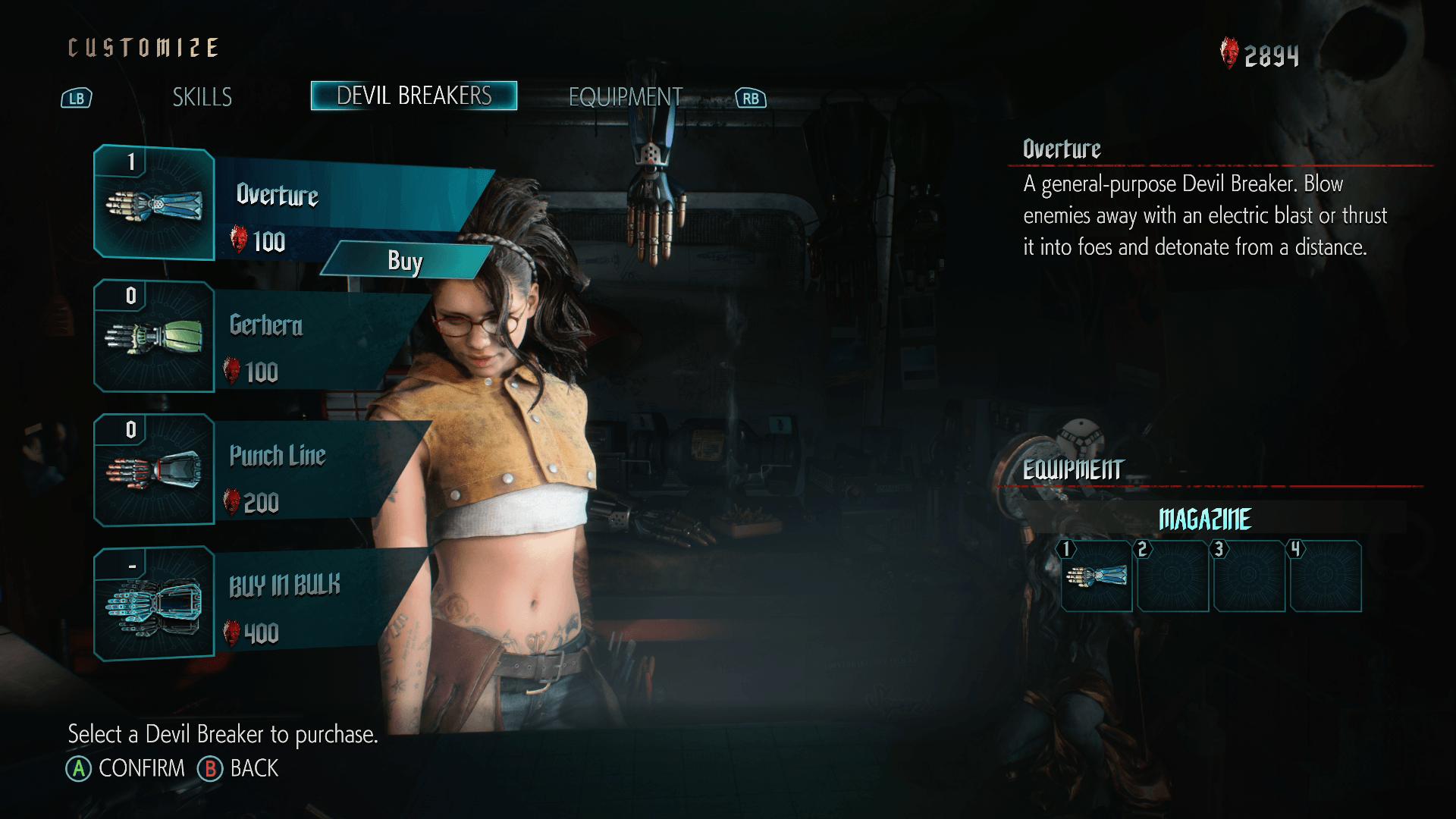 Devil May Cry V Demo Customization 1
