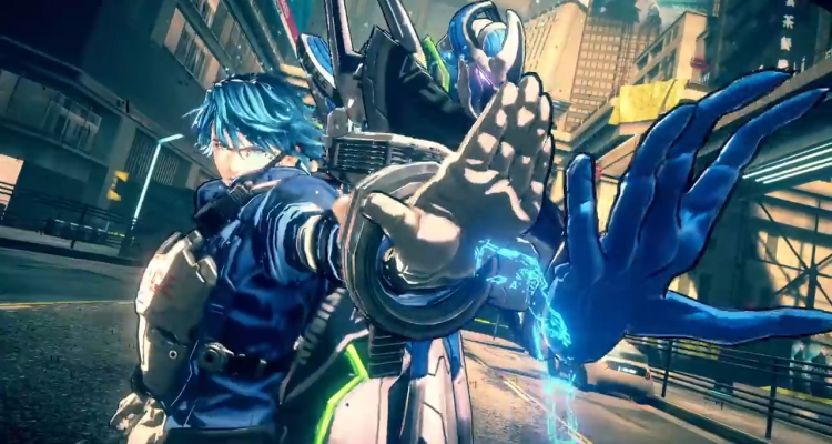 Astral Chain hand pose