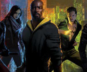 Marvel Netflix Jessica Jones Daredevil Luke Cage Iron Fist Punisher Defenders
