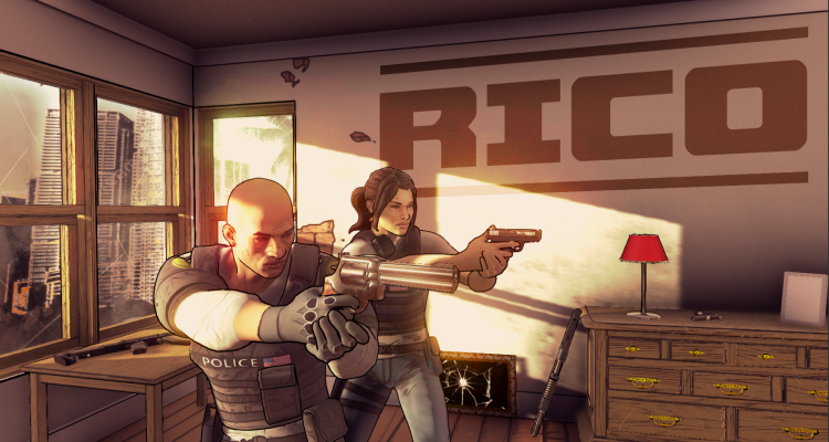 Rico Game Header - Those Cops Are Her
