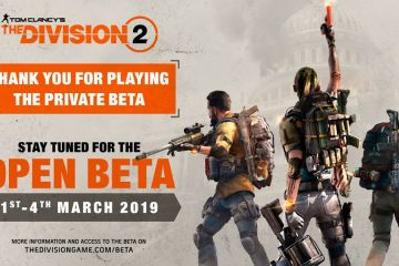 beta the division 2 open beta