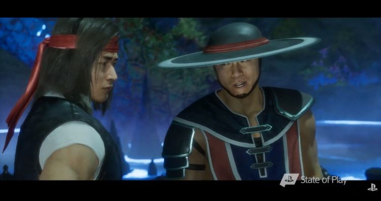 Kun lao and Lui Kang in MK11