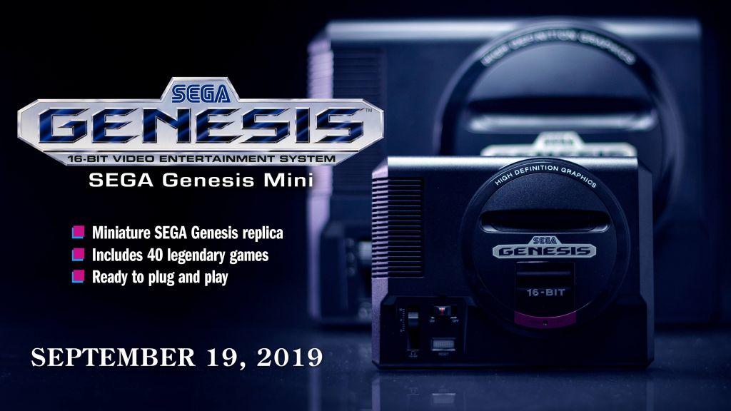 Sega Genesis Mini Offical