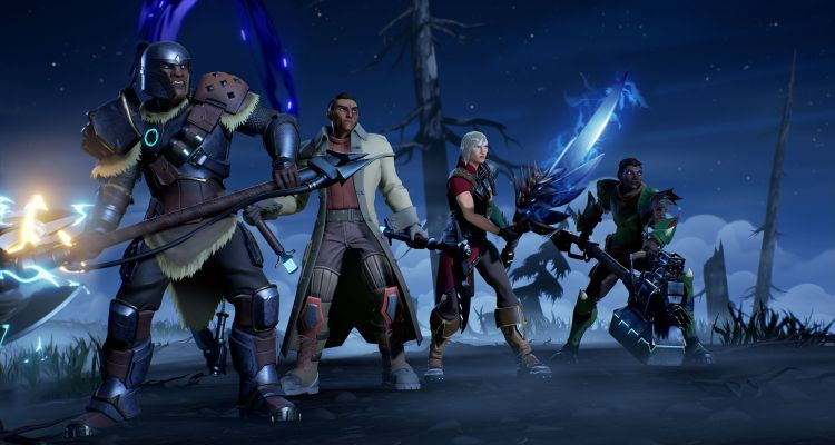 Dauntless players at the ready