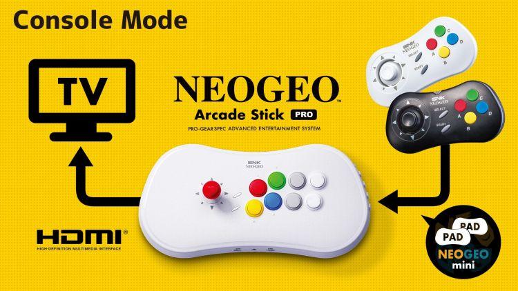 NEOGEO Arcade Stick Pro SS-03