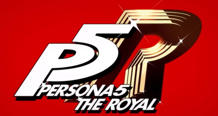 Persona 5 The Royal Opening Movie Logo