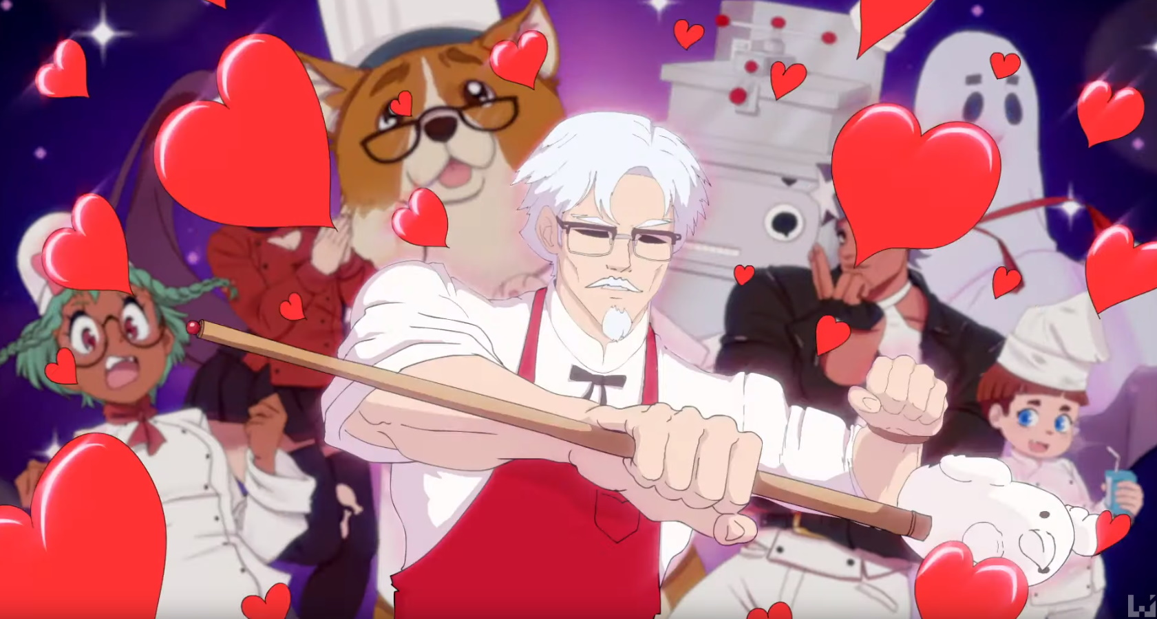 weird KFC dating simulator game ss-02