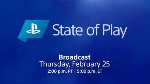 State of Play Feb 2021
